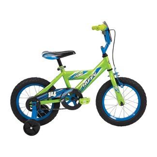 """Huffy Frenzy 14"""" Kids Bike - Lime Green"""