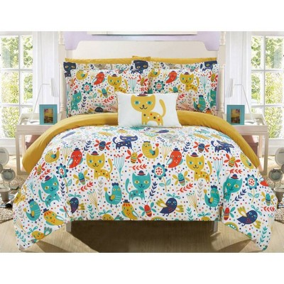 6pc Twin Tiggy Bed in a Bag Comforter Set Yellow - Chic Home Design