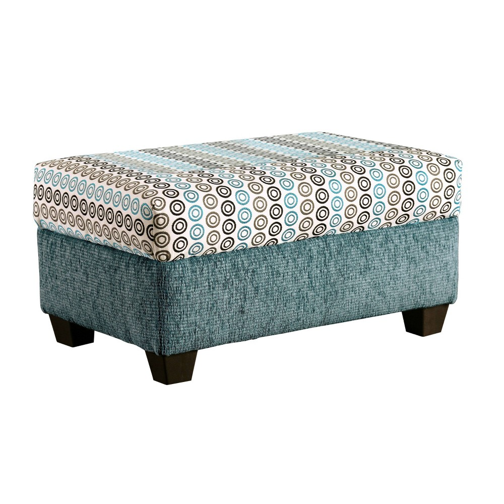Ottomans Casual Turquoise - Homes: Inside + Out