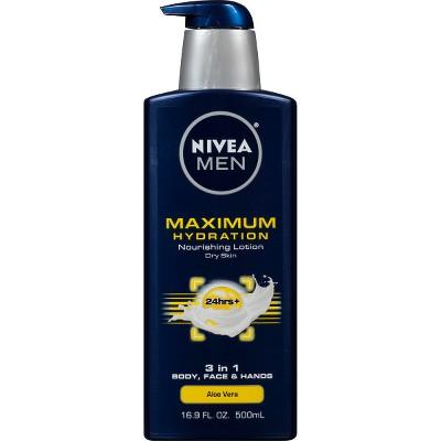 Body Lotions: Nivea Men Maximum Hydration Lotion
