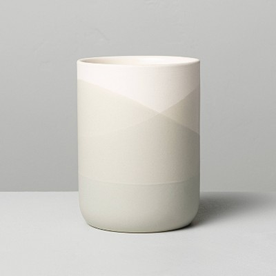 7.76oz Salt Dipped Ceramic Candle - Hearth & Hand™ with Magnolia