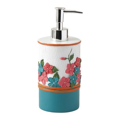 Lakeside Spring Truck Soap/Lotion Pump - Novelty Dispenser with Spring Floral Design
