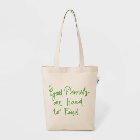 To The Market Organic Cotton Tote Handbag - Natural - image 1 of 3