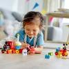 LEGO DUPLO Disney Mickey & Minnie Birthday Train Kids' Birthday Number Train Playset 10941 - image 3 of 4