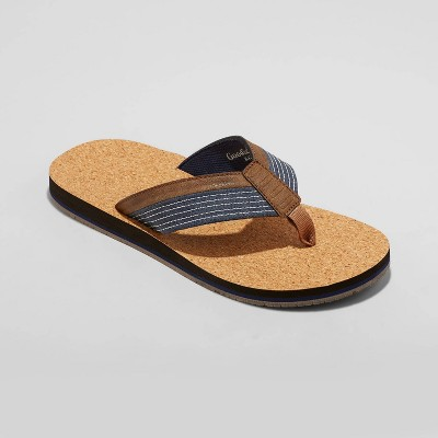 Men's Keegan Flip Flop Sandals - Goodfellow & Co™ Navy