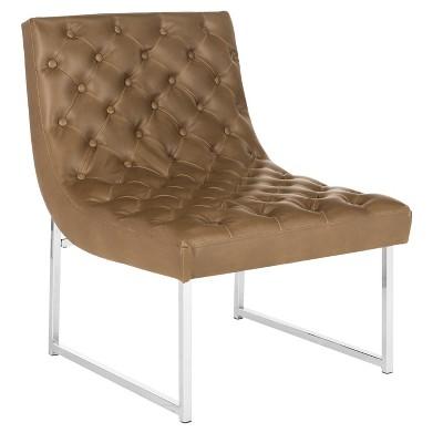 Hadley Tufted Armless Chair - Safavieh