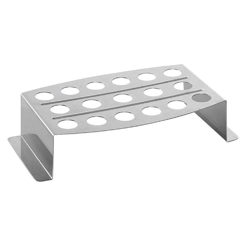 Nordicware Stainless Steel (Silver) Chicken Leg Griller & Jalapeno Roaster