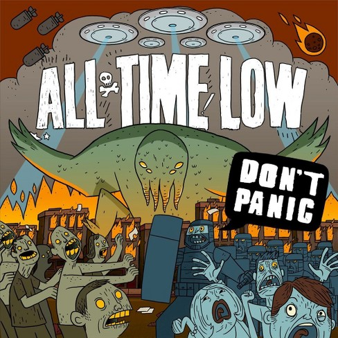All Time Low - Don't Panic (CD) - image 1 of 1