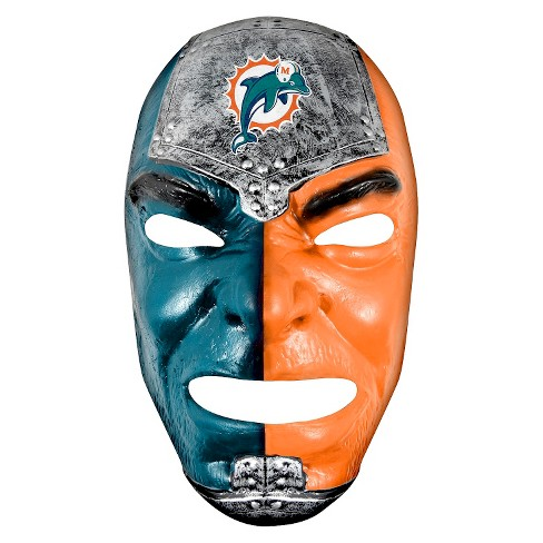 Miami Dolphins Franklin Sports Fan Face Mask - image 1 of 1