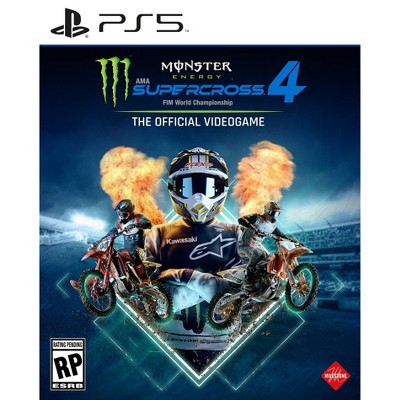 Monster Energy Supercross 4: The Official Video Game - PlayStation 5