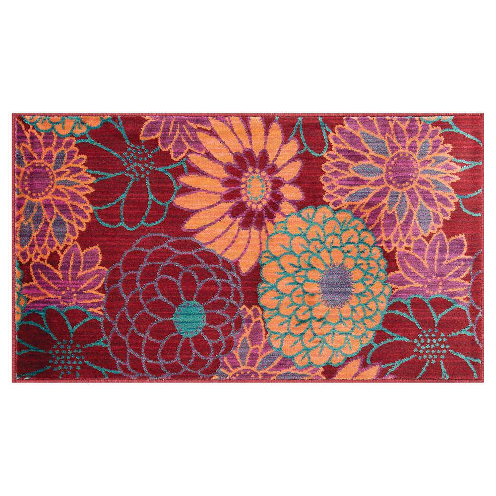 Loloi Isabelle Accent Rug - Red (2'2X5')