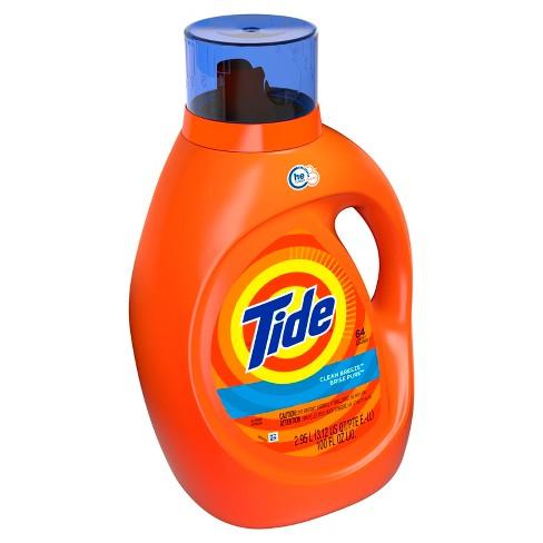 Tide Clean Breeze Liquid Laundry Detergent - 100 fl oz - image 1 of 3
