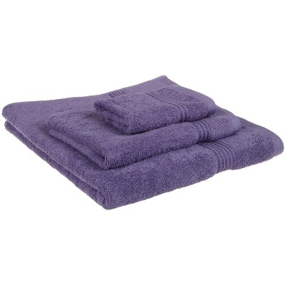 Warm and Absorbent Cotton Assorted 3-Piece Towel Set - Blue Nile Mills