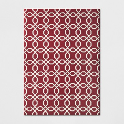 1'10 X7'/22 X84  Trellis Runner Red - Threshold™