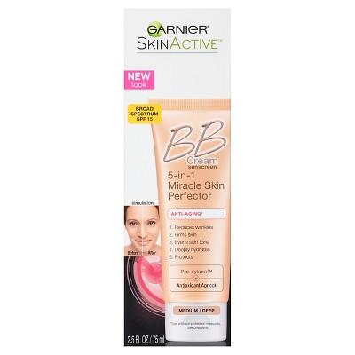 Garnier® SKINACTIVE™ BB Cream 5-in-1 Miracle Skin Perfector Anti Aging - Medium/Deep