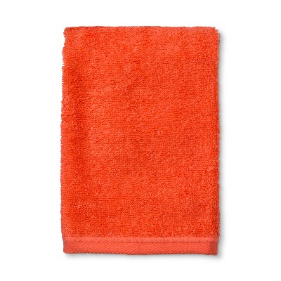Solid Hand Towel Bright Coral - Room Essentials™