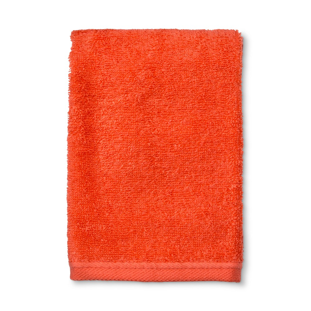 Solid Hand Towel Dreamy Tangerine - Room Essentials