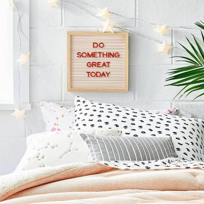 College Bedding & Letterboard Wall Décor Collection - Room Essentials™