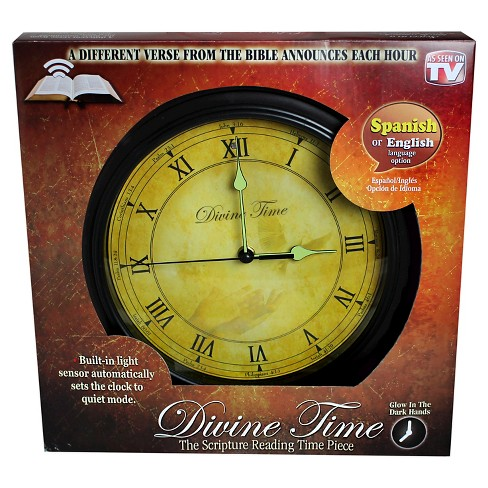 As Seen on TV® InvenTel Divine Time Clock - image 1 of 4