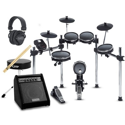 Alesis Surge Mesh-Head Complete Electronic Drum Set with Simmons DA50B Monitor
