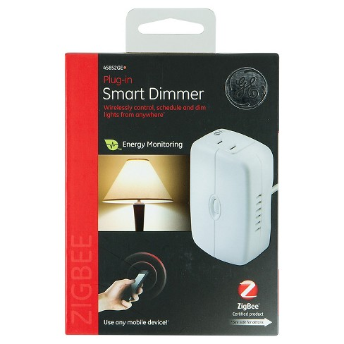 GE ZigBee Plug-In Smart Dimmer with Energy Monitoring - White (45852GE) - image 1 of 4