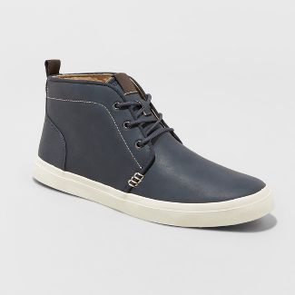 Men's Louie Chukka Boots - Goodfellow & Co™ Navy 10.5