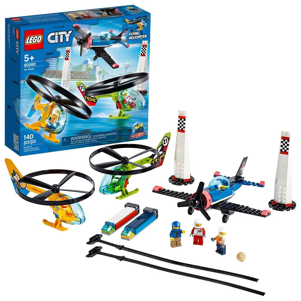 LEGO City Air Race Playset, Best Toys for Kids 60260