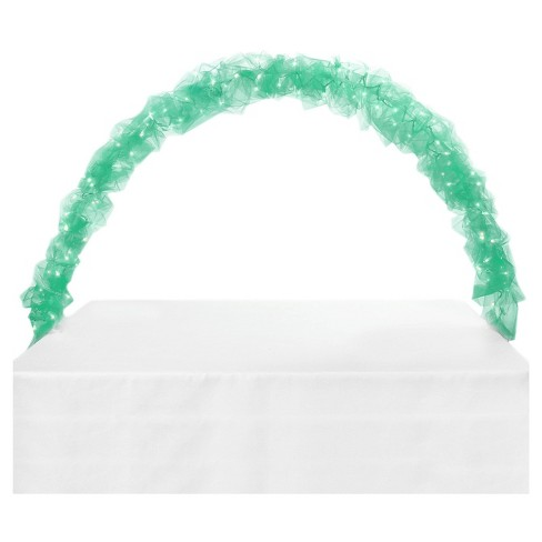 """Mint Green"" Celebration Tulle & Light Arch - image 1 of 1"