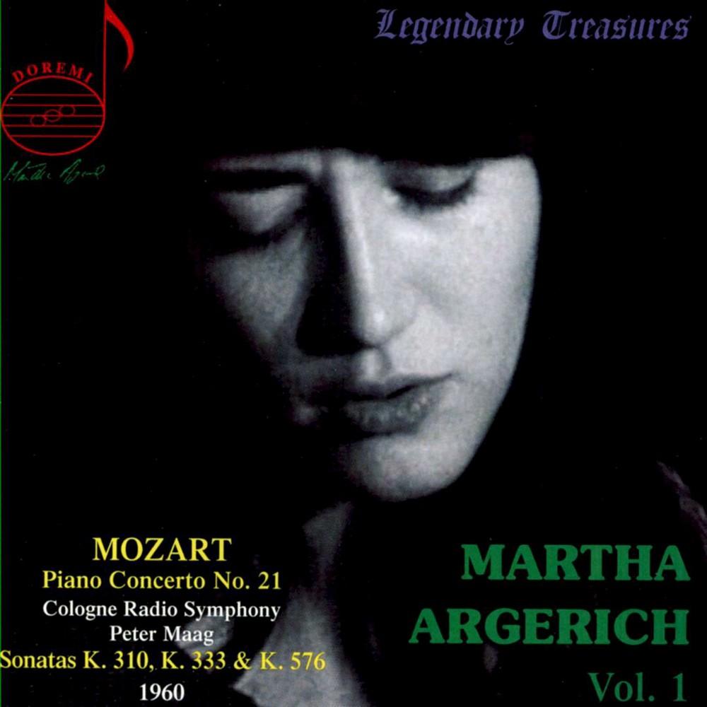 Martha Argerich - Mozart:Martha Argerich Vol 1 (CD)