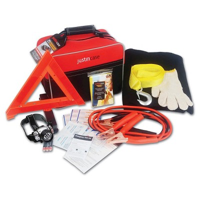 Justin Case Auto Safety & First Aid Kit- Premium