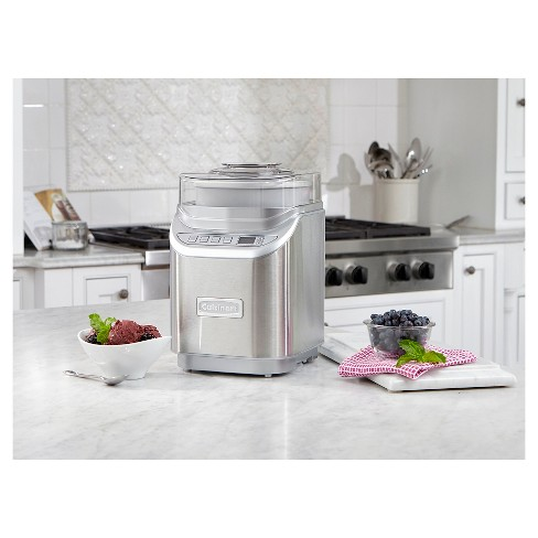 Cuisinart® Electronic Ice Cream Maker - Stainless Steel ICE-70 - image 1 of 1