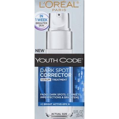 L'Oreal Paris Youth Code Dark Spot Corrector Serum 1 fl oz