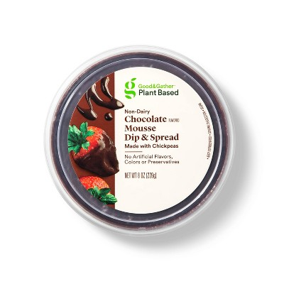 Chocolate Flavored Mousse Plant Based Dip + Spread - 8oz - Good & Gather™