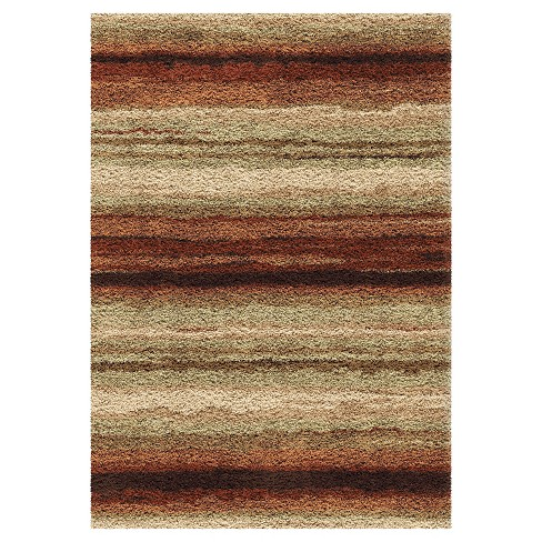 Rural Road Red Area Rug - Orian - image 1 of 4