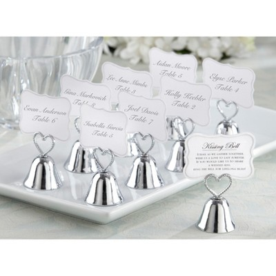 24ct Kate Aspen Kissing Bells Place card Holder