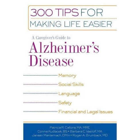 A Caregiver's Guide to Alzheimer's Disease - (Paperback) - image 1 of 1
