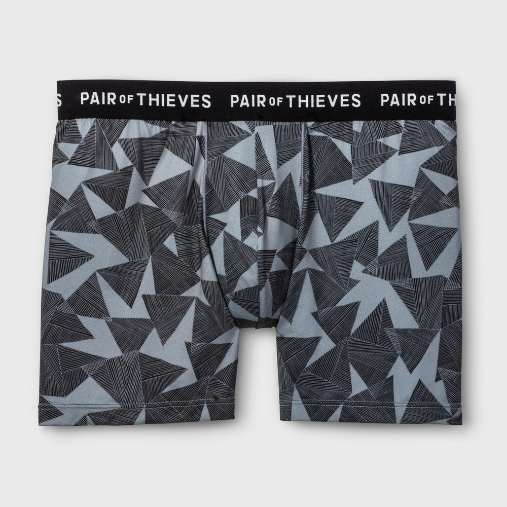Pair of Thieves Men's Ultra Light Boxer Briefs - Shades Of Gray XL