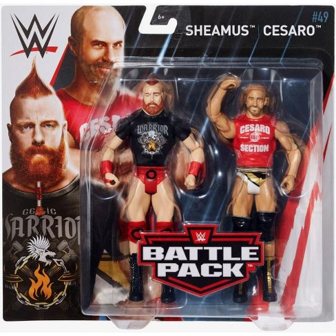 WWE Wrestling Battle Pack Series 49 Sheamus and Cesaro Action Figure 2-Pack - image 1 of 4