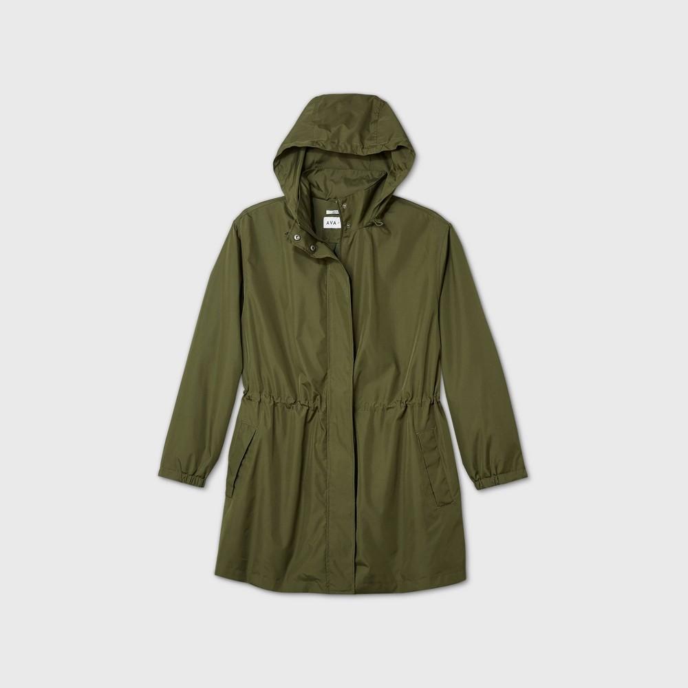Best Women's Plus Size Rain Jacket - Ava & Viv™