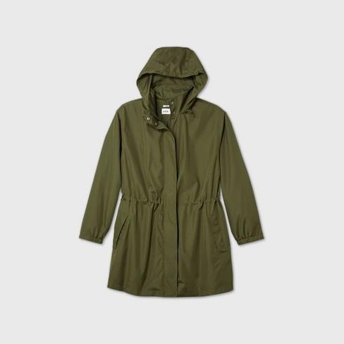 Women's Plus Size Rain Jacket - Ava & Viv™ - image 1 of 3