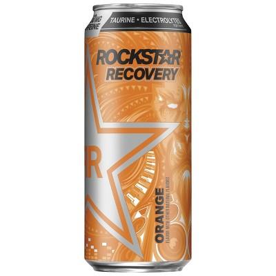 Rockstar Recovery Orange Energy Drink - 16 fl oz Can