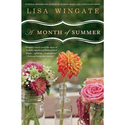 A Month of Summer - (Blue Sky Hill) by  Lisa Wingate (Paperback) - image 1 of 1