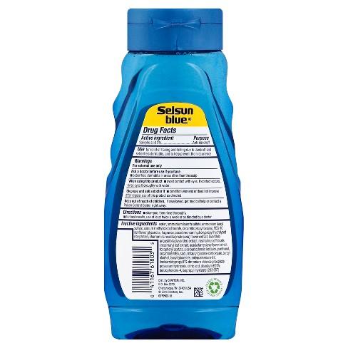 selsun blue naturals dry scalp shampoo 11 fl oz target