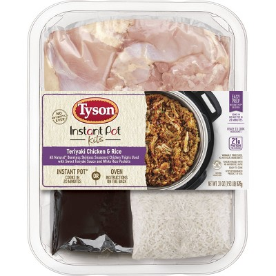 Tyson Instant Pot Premium Meal Kit Teriyaki Chicken and Rice - 31oz