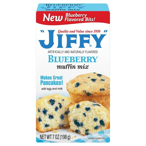 Jiffy Blueberry Muffin Mix 7 oz - image 1 of 4