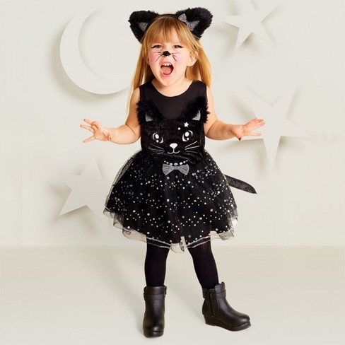 65d53c997b2 Toddler Girls' Cat Witch Halloween Costume 4T-5T - Hyde & EEK! Boutique™