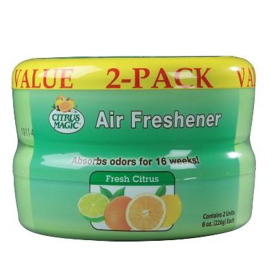 Citrus Magic Fresh Citrus Scent Solid Air Freshener