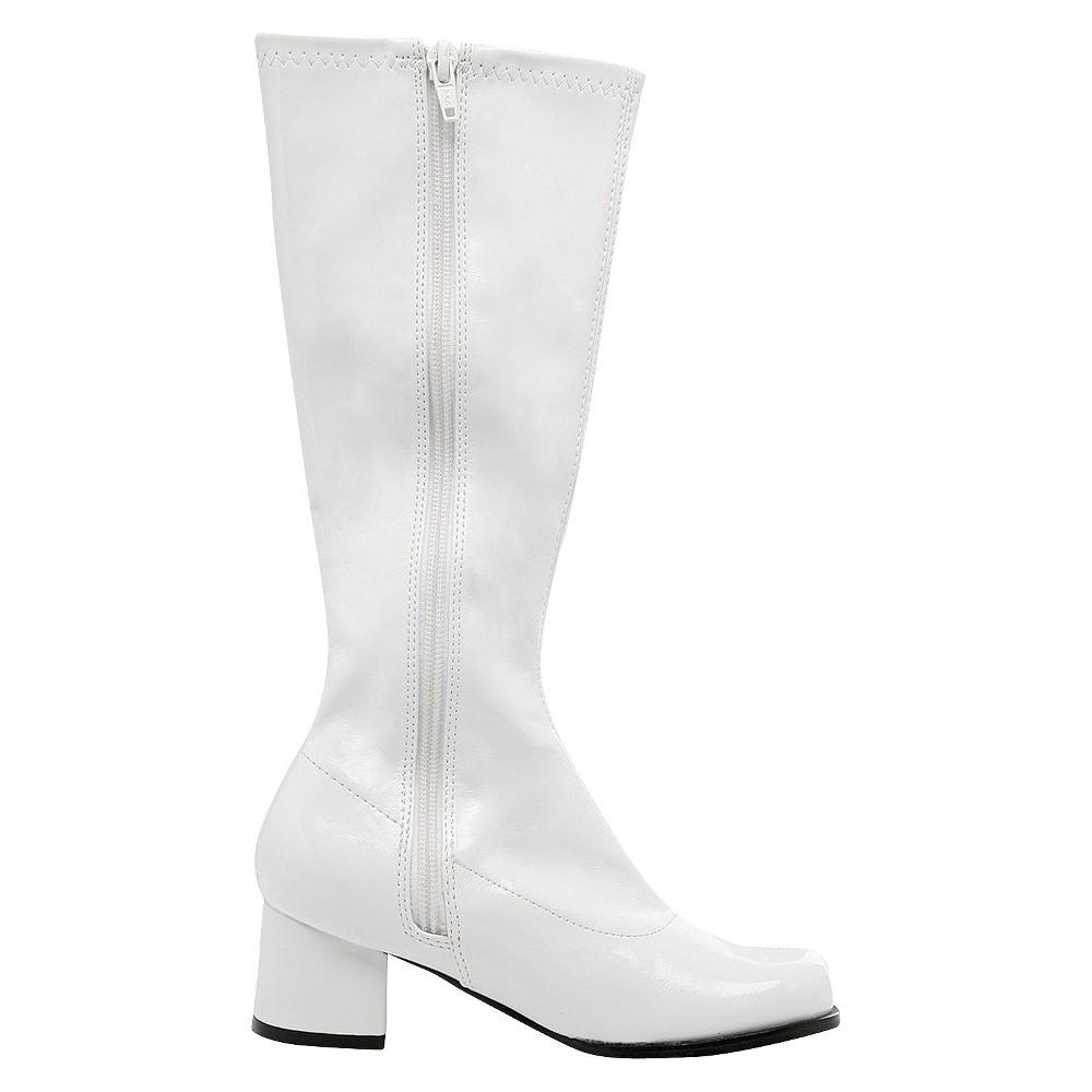 Halloween Girls' Dora White Costume Boots - Medium