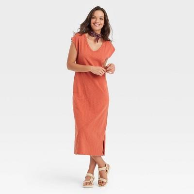 Women's Sleeveless Modern Knit Dress - Universal Thread™
