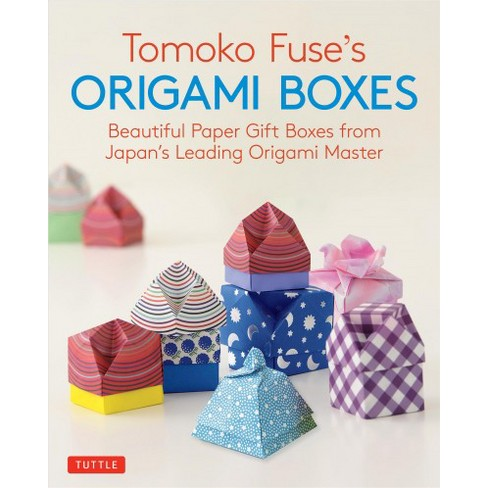 Tomoko Fuses Origami Boxes Beautiful Paper Gift Boxes From